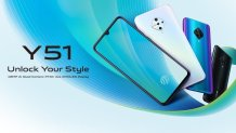 Vivo Y51 (2020) arrives with an AMOLED display and 48MP quad cameras