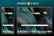 Xiaomi patents a foldable smartphone with a Z Fold design