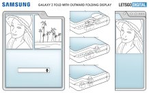 Samsung patents three foldable smartphone designs with cutout for inner cameras