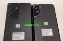 Galaxy S21+ and Galaxy S21 Ultra leak in a live image along with camera specs