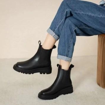 Shoes Galore Short Chelsea Boots
