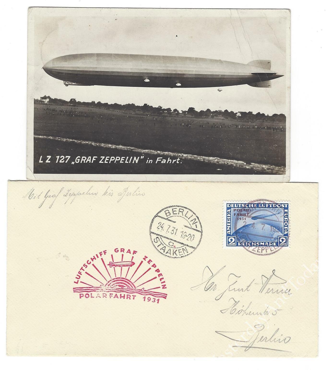 Zeppelin Postal History
