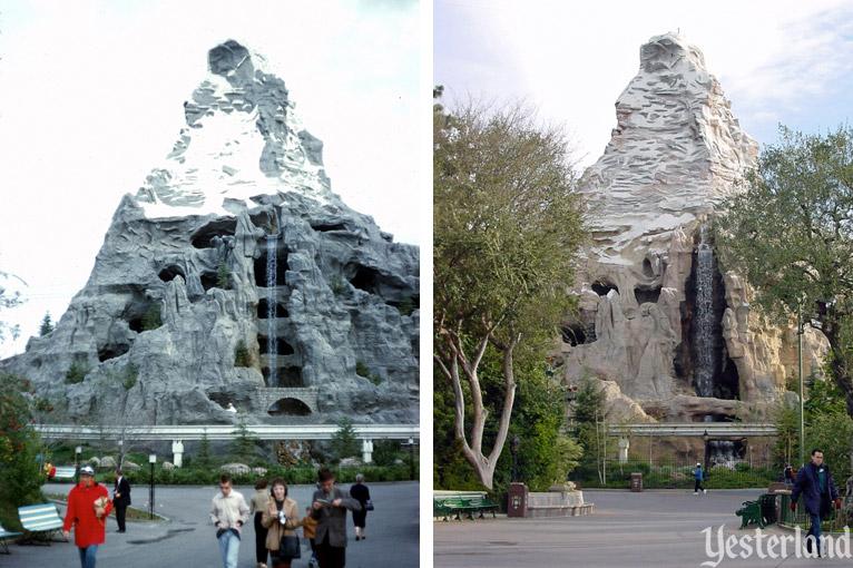 Disneyland is the only disney theme park with a matterhorn ride. Yesterland The Old Matterhorn
