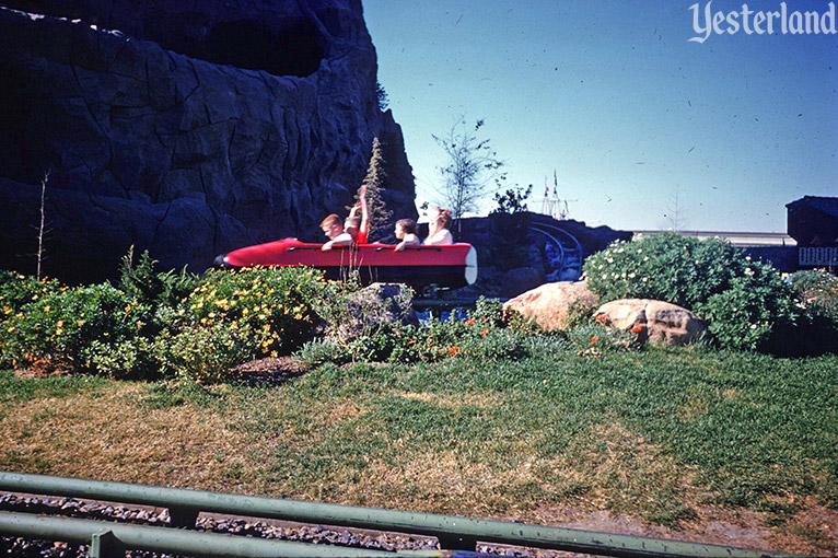 The recording was changed in 2005 to say remain seated with your seat belt fastened; Yesterland The Old Matterhorn