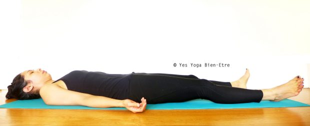 Savasana Posture Cadavre Yes Yoga Bien Etre