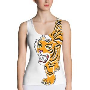 debardeur animal totem tigre
