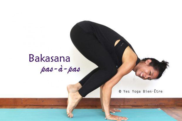 Comment faire la posture du Corbeau par Sophie Yes Yoga Bien-être