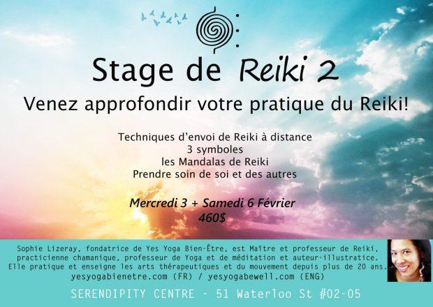 Apprendre le Reiki à Singapour avec les stages de Reiki