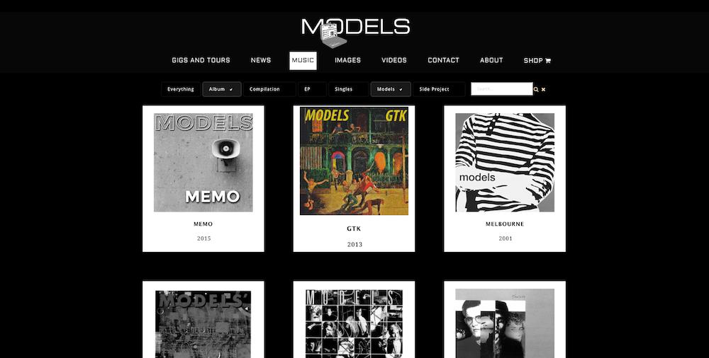 Models Discography