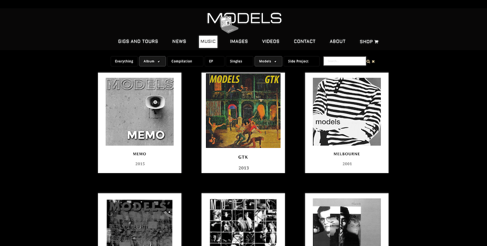 Models Discography