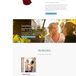 Weddings page