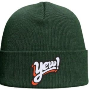 YEW Green Beanie