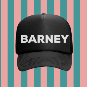 Barney Foam Trucker Hat