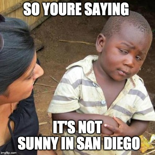 Yew Online Meme Not sunny SD