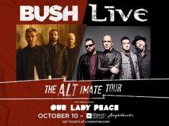 Bush + Live