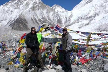 Glen Young at Everest Base Camp