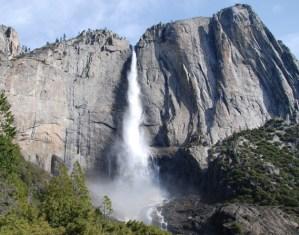 Yosemite Falls in Spring by John P. DeGrazio