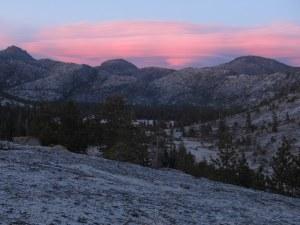Yosemite Sunsets
