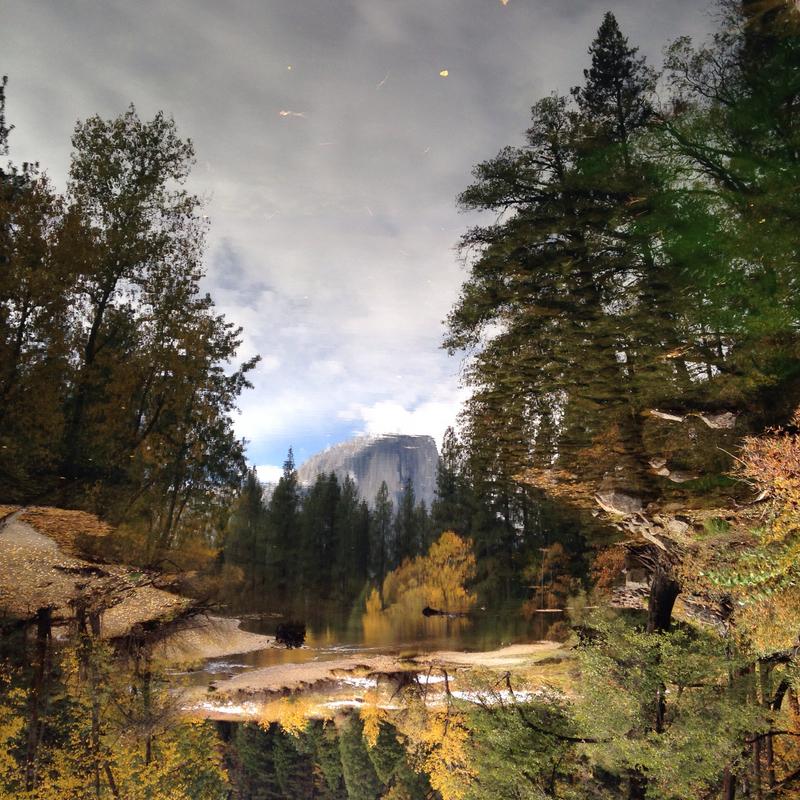Yosemite National Park Vacations: Yosemite Instagram IPhonography Reflections 11.24