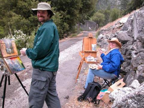 Yosemite-Hetch-Hetchy-Painting-YExplore-McGrew-Jun2007