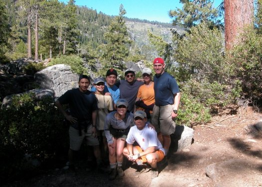 Yosemite-HalfDome-MistTrail-Team-YExplore-DeGrazio-JUL2003