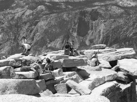 Yosemite-HalfDome-Summit-Visor-YExplore-DeGrazio-JUL2003