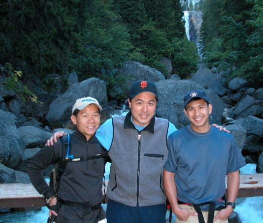 Yosemite-HalfDome-Vernal-Bridge-YExplore-DeGrazio-JUL2003