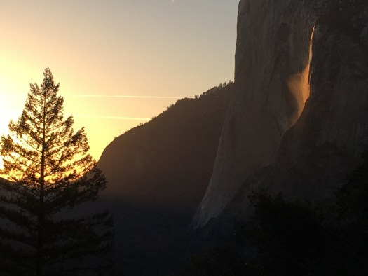 Yosemite-Horsetail-Sunset-iPhone-YExplore-DeGrazio