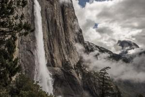 Yosemite Falls with Half Dome
