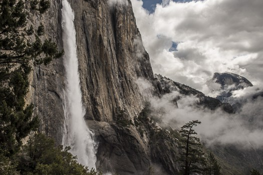 Cholock Yosemite Falls Half Dome