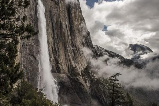 Cholock Yosemite Falls Half Dome