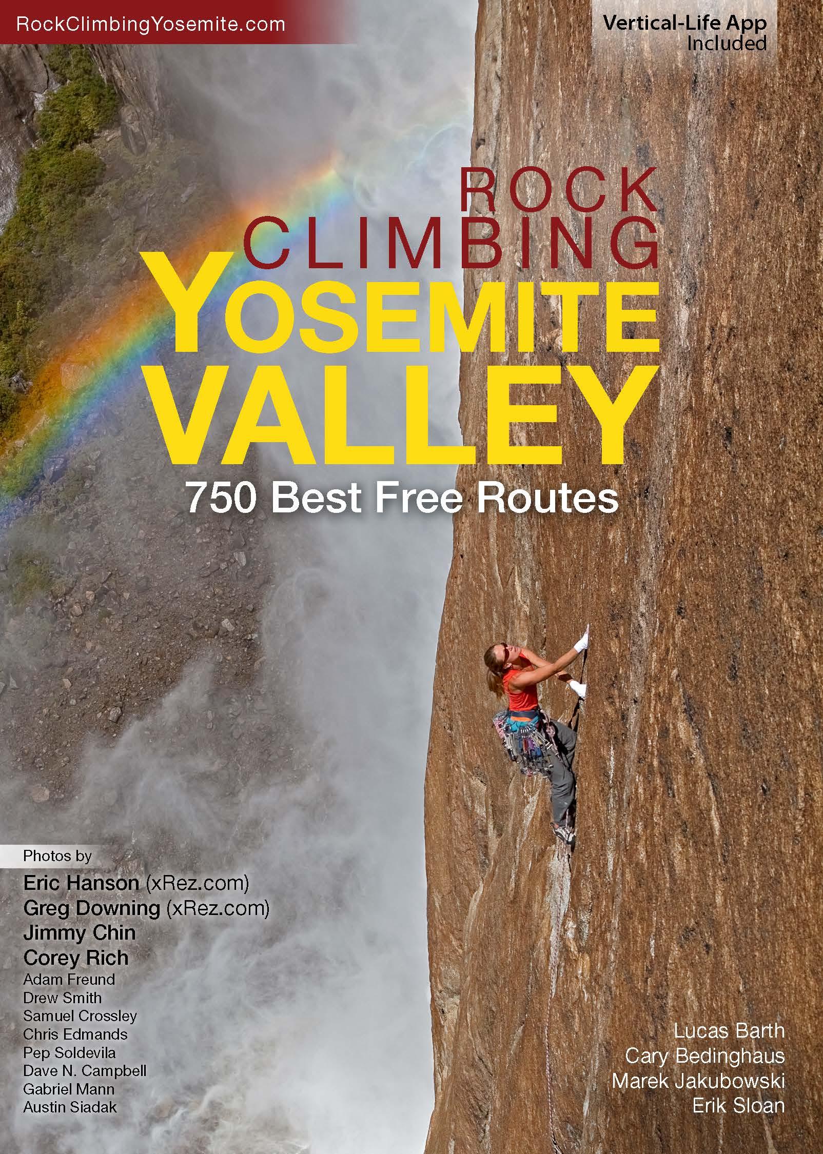 Rock Climbing Yosemite Valley Guide Book