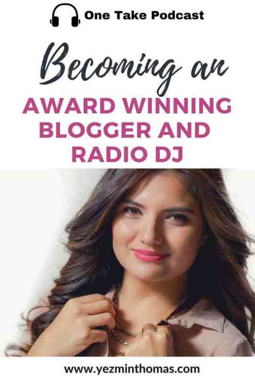 becoming an award winning blogger and radio dj ana cruz