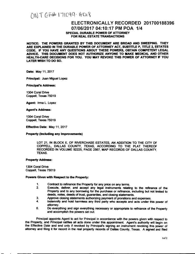 Reporte Mito Financial Lopez Power of Attorney-1