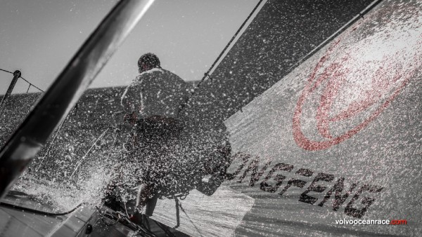 Volvo Ocean Race – Clive and Teresa Evans are on the finish line in Gothenburg, Sweden this week