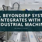 YGL BeyondERP system integrates with your industrial machine