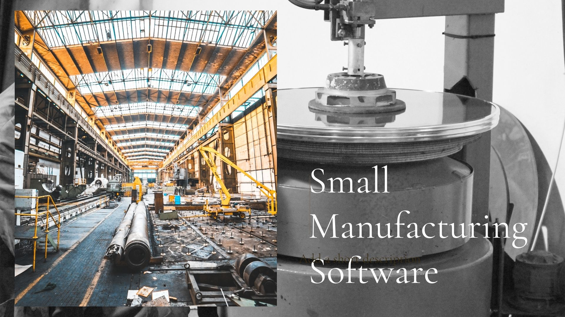 Small Manufacturing Software   Manufacturing ERP for micro enterprise