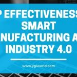ERP effectiveness in smart manufacturing and industry 4.0