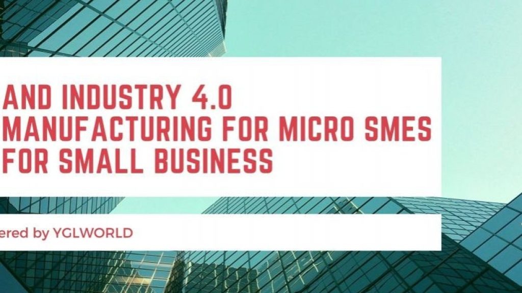 ERP and Industry 4.0 | ERP Manufacturing for Micro SMEs | ERP for small business