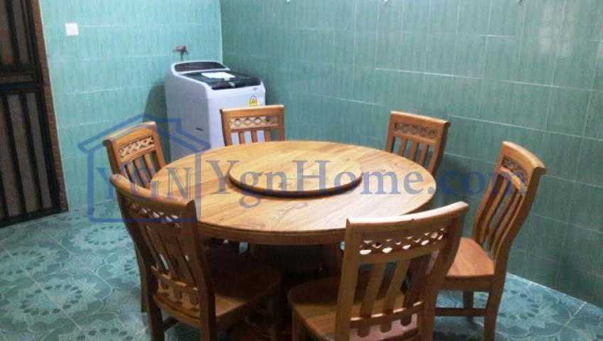 45 x 135 Land with 3 RC + 2 RC for RENT in Than Lwin Road, Bahan Tsp.
