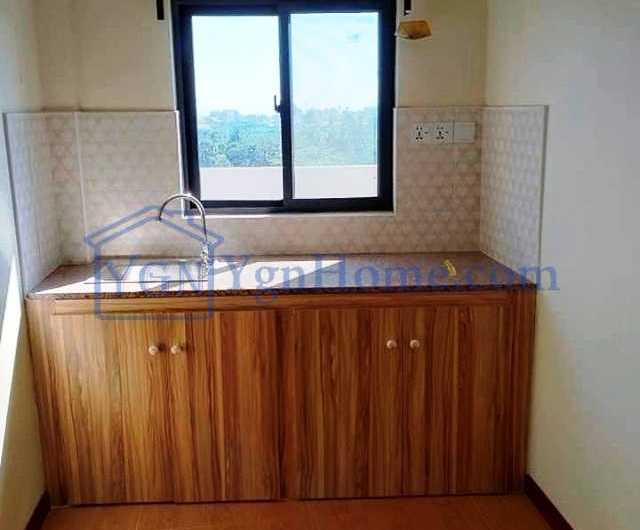 1200 Sqft with 2 BR mini Condo for RENT in near Stadium View mini Condo, Mingalar Taung Nyunt Tsp.