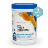 Beyond Tangy Tangerine Tv 3 Pack