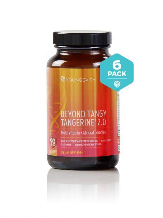 Btt 2.0 120ct 6 Packbeyond Tangy Tangerine