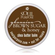 Ghanaian Brown Sugar And Honey Body Balm Sample Pack 20 Pack