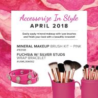 Mineral Makeup Of The Month Club April 2018
