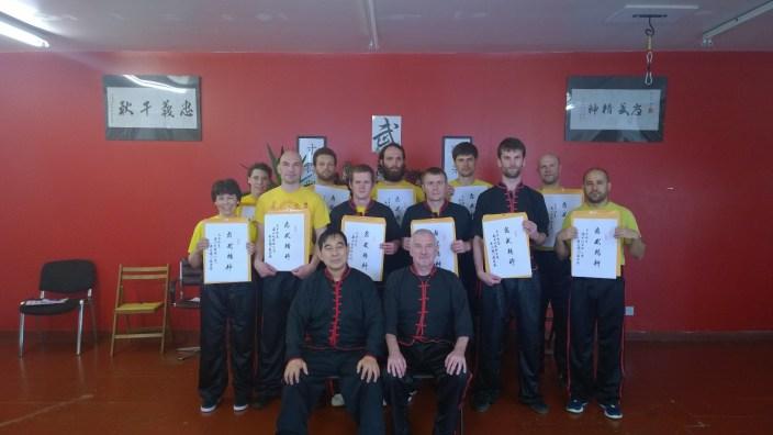 Attendees of Great Grandmaster Yee Chi Wai's Junior seminar (June 2016)
