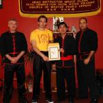 Sifu Hepple awarded the level of Jo Gow by Si Tai Gung Yee Chi Wai (2006)