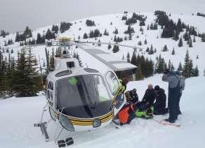 snowmobiler rescue SAR service