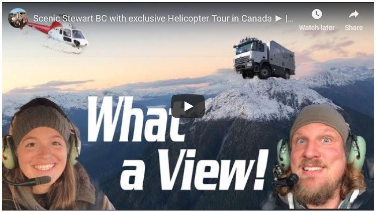 Stewart heli-tour video image overlay