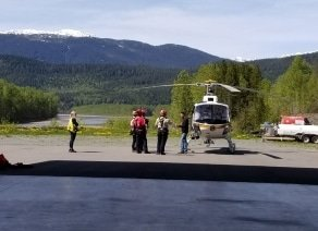 SAR helicopter training